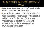 king philip s war metacomet s war