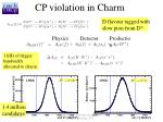 cp violation in charm1