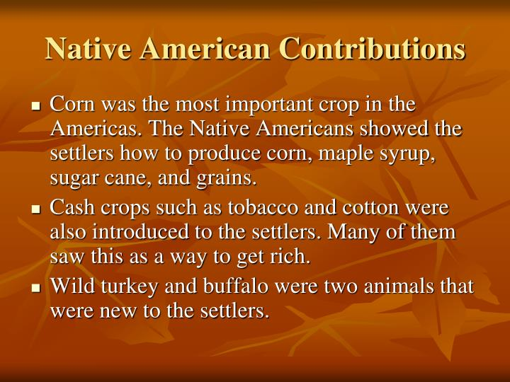 impact of colonization on native americans essay Through my investigation on the effects of historical colonization on the american indian population, i found a relationship between cultural devastation and long-lasting effects specifically, experiences of historical loss and forced acculturation alter the wellbeing of.