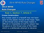 2014 nfhs rule changes1