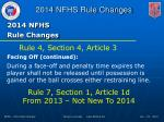 2014 nfhs rule changes4