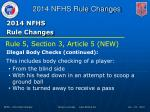 2014 nfhs rule changes8