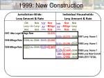 1999 new construction