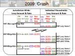 2009 crash