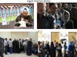 egypt election photos