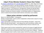 libya s prime minister ousted in chaos over tanker