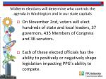 midterm elections will determine who controls the agenda in washington and in our state capitals
