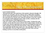 idea development1