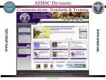 afhsc divisions