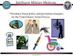intelligent military medicine
