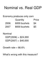 nominal vs real gdp
