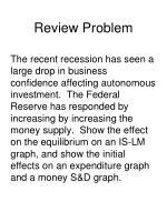 review problem1