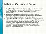 inflation causes and cures1