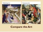 compare the art