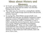 ideas about history and memory