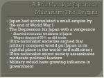 a brief look at japanese militarism the origins