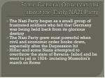 some general observations about the early nazi party