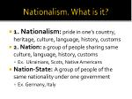 nationalism what is it
