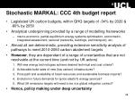 stochastic markal ccc 4th budget report