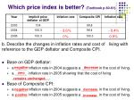 which price index is better textbook p 60 611