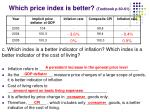 which price index is better textbook p 60 612