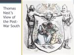 thomas nast s view of the post war south