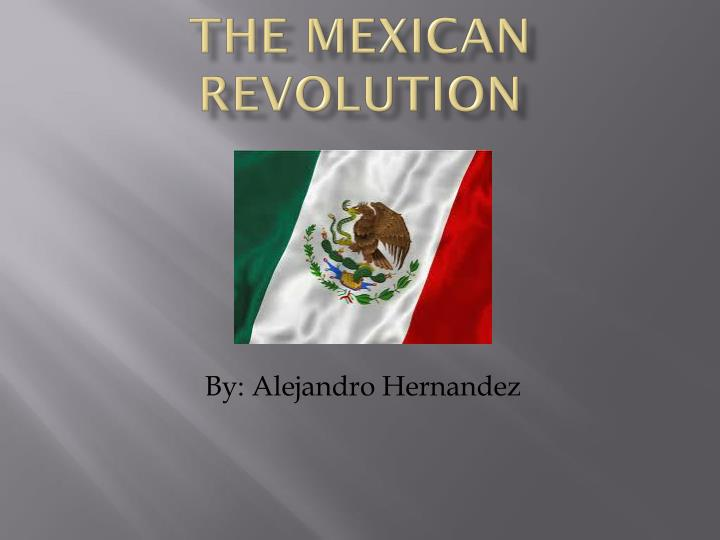the mexican revolution n.