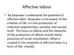 affective labour1