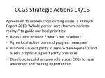 ccgs strategic actions 14 15