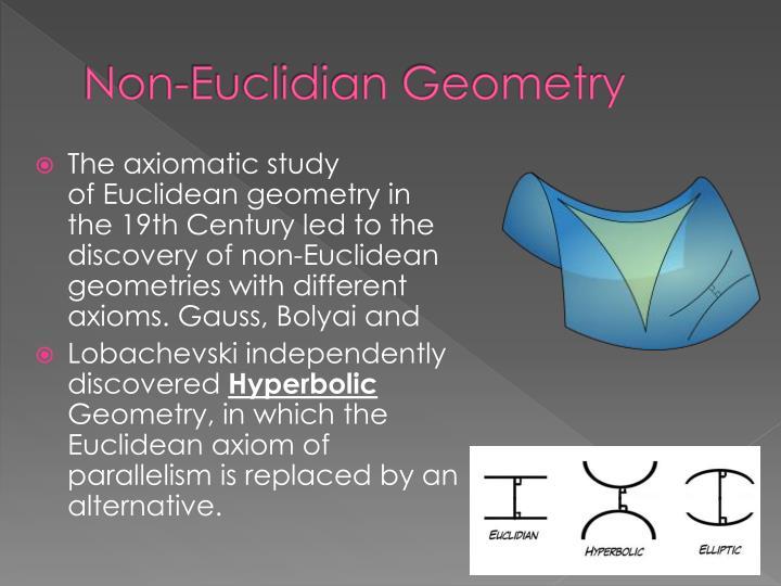 Non-Euclidian Geometry