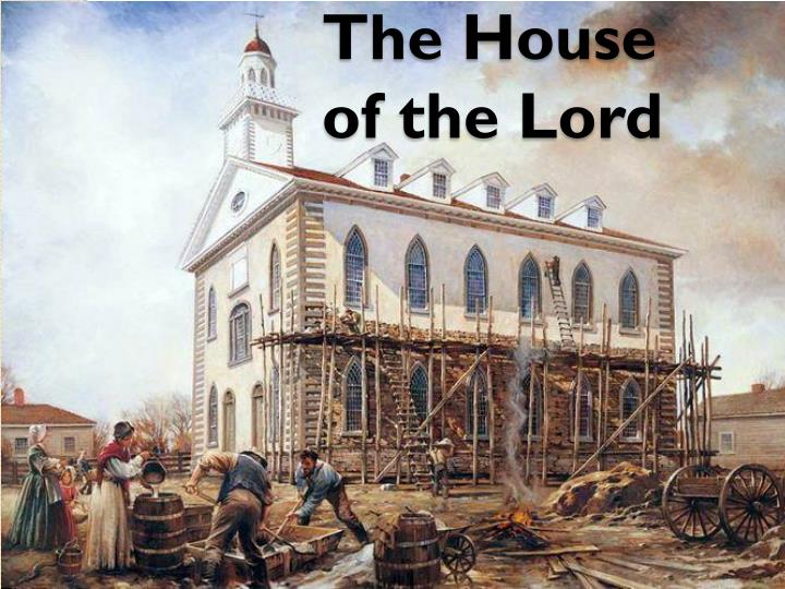 the house of the lord n.