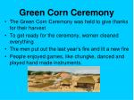 green corn ceremony