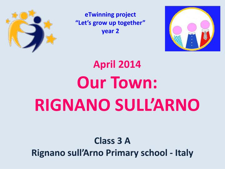 etwinning project let s grow up together year 2 n.