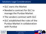 solutions legal considerations