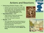 actions and reactions1