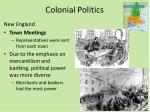 colonial politics1