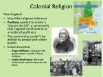 colonial religion1