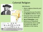 colonial religion2