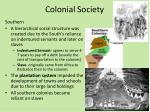 colonial society1