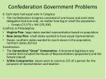 confederation government problems5