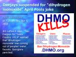 deejays suspended for dihydrogen monoxide april fools joke