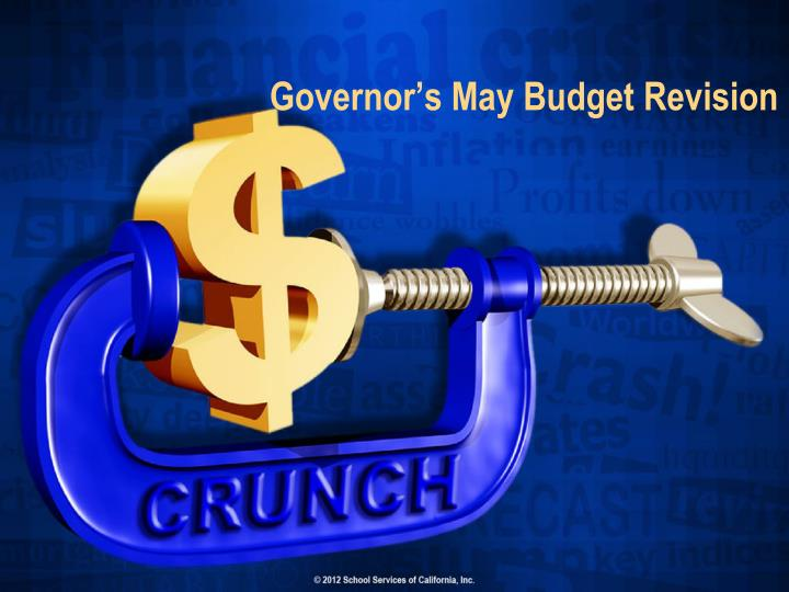 governor s may budget revision n.