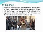 9 la cruz