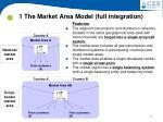 1 the market area model full integration