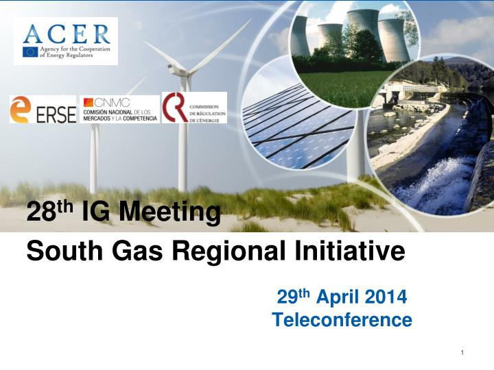 29 th april 2014 teleconference n.