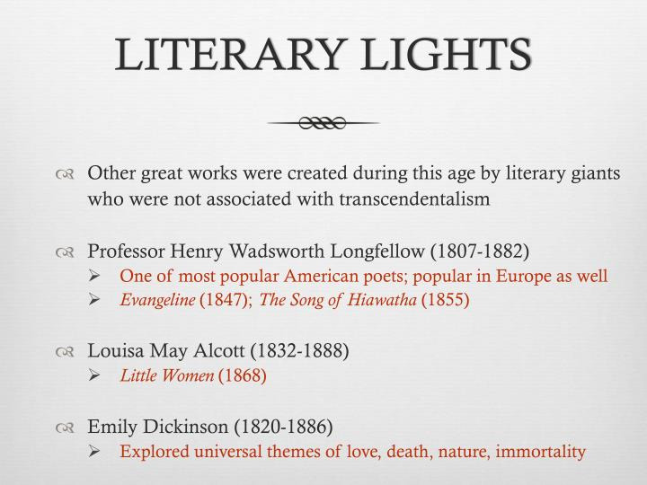 walt whitman and emily dickinson were giants Chapter 15: the ferment of reform and culture  successful literary giants which were not included in the  we're louisa may alcott and emily dickinson.