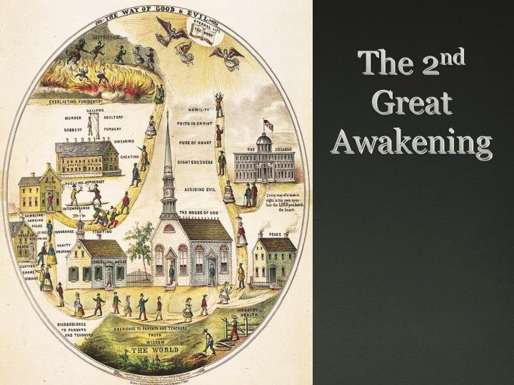 apush second great awakening essay The second great awakening and immigration: driven by the religious fervor of the second great awakening, protestants went on a crusade against new immigrants from roughly the 1820s-1850s catholic immigrants were described as papists who would never be loyal to the united states since their allegiance was to the pope.