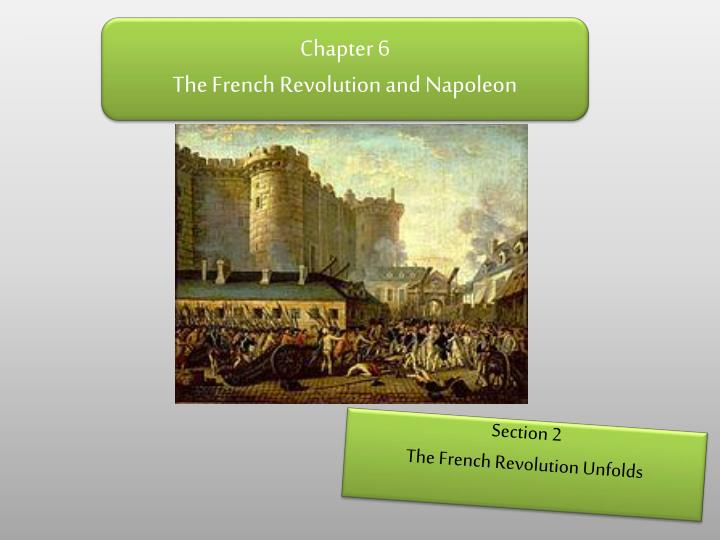 chapter 6 the french revolution and napoleon n.