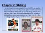 chapter 2 pitching