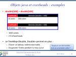 objets java et overheads exemples3